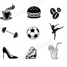 Штампы для клубных карт (клубов, ресторанов, кафе и фитнес клубов)